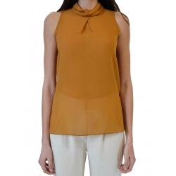 Georgette Halterneck Top