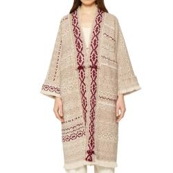 Cappotto Kimono Peonia