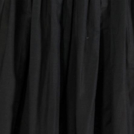 Cotone seta nero