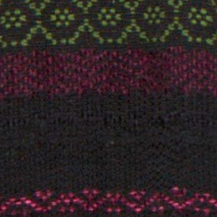 Telaio multicolor nero melanzana